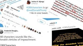 Twitter erlaubt 280-Zeichen-Tweets: Die besten Reaktionen