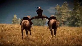 The Witcher 3: CD Projekt Red zeigt witziges Behind-the-Scenes-Video mit Glitches & mehr