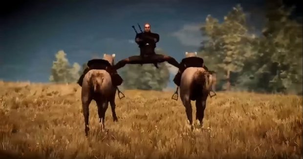 The Witcher 3: CD Projekt Red zeigt witziges Behind-the-Scenes-Video mit Glitches & mehr