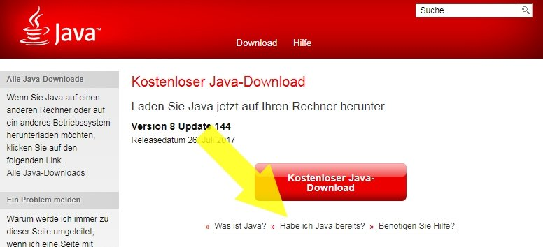 Welche Java Version Browser