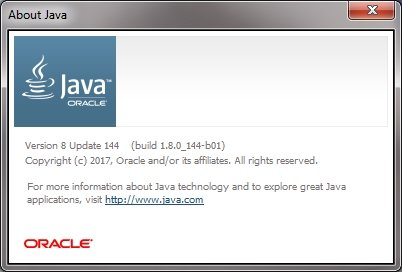 Welche Java Version Software-Info