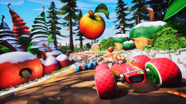 "All-Star Fruit Racing: Neuer ""Early Access""-Funracer auf Steam"