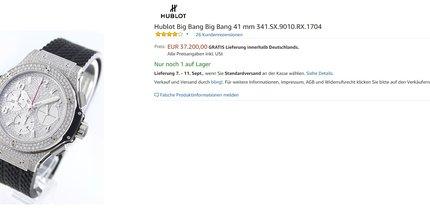 Die teuersten Produkte bei Amazon: Online-Shopping für Superreiche