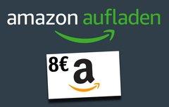 Amazon verschenkt Geld: Guthaben aufladen, 8-Euro-Gutschein abkassieren (verlängert bis 31.10.2017)