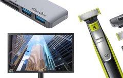 Blitzangebote: OneBlade-Aktion, Samsung-Monitor, iPod-Ersatz u.v.m. heute günstiger