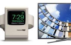 Blitzangebote: Apple-Watch-Halterung, Samsung-TV, AirPods-Gürtelclip