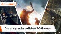 Das sind die grafisch anspruchsvollsten Spiele für deinen PC