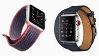 Apple Watch Series 3 & Series 1 kaufen: deutsche Preise