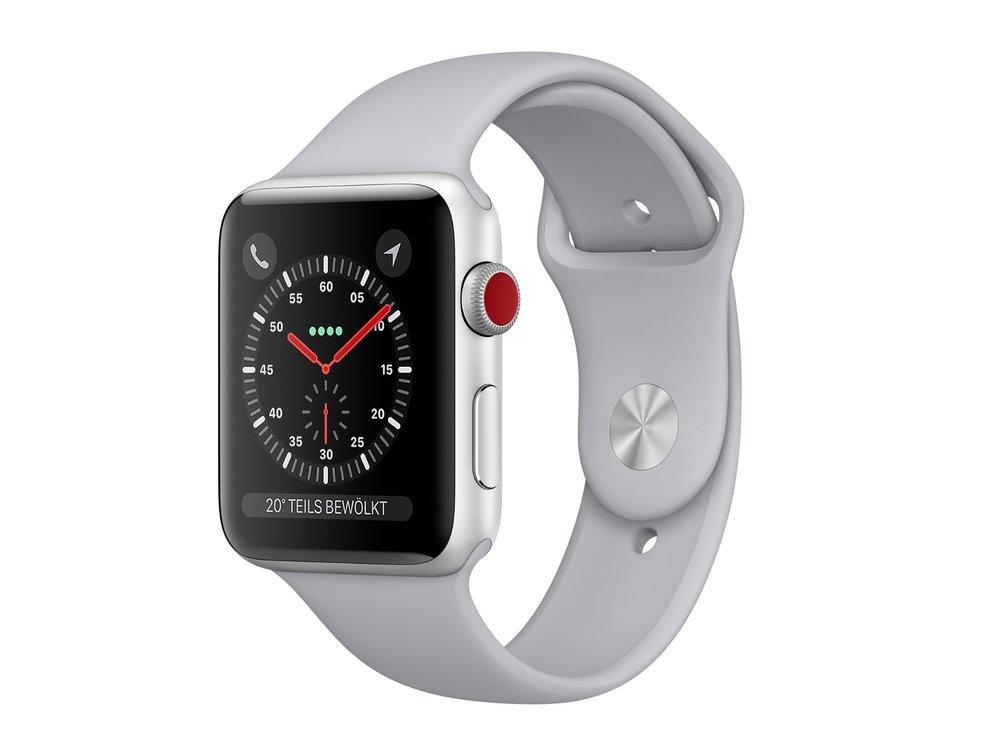 Apple Watch Series 3: So schwach ist die Akkulaufzeit bei LTE-Verbindungen