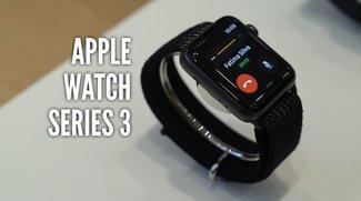 Apple Watch Series 3 im Hands-On-Video