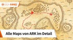 ARK - Survival Evolved: Alle Maps mit besten Spawnpunkten und Infos
