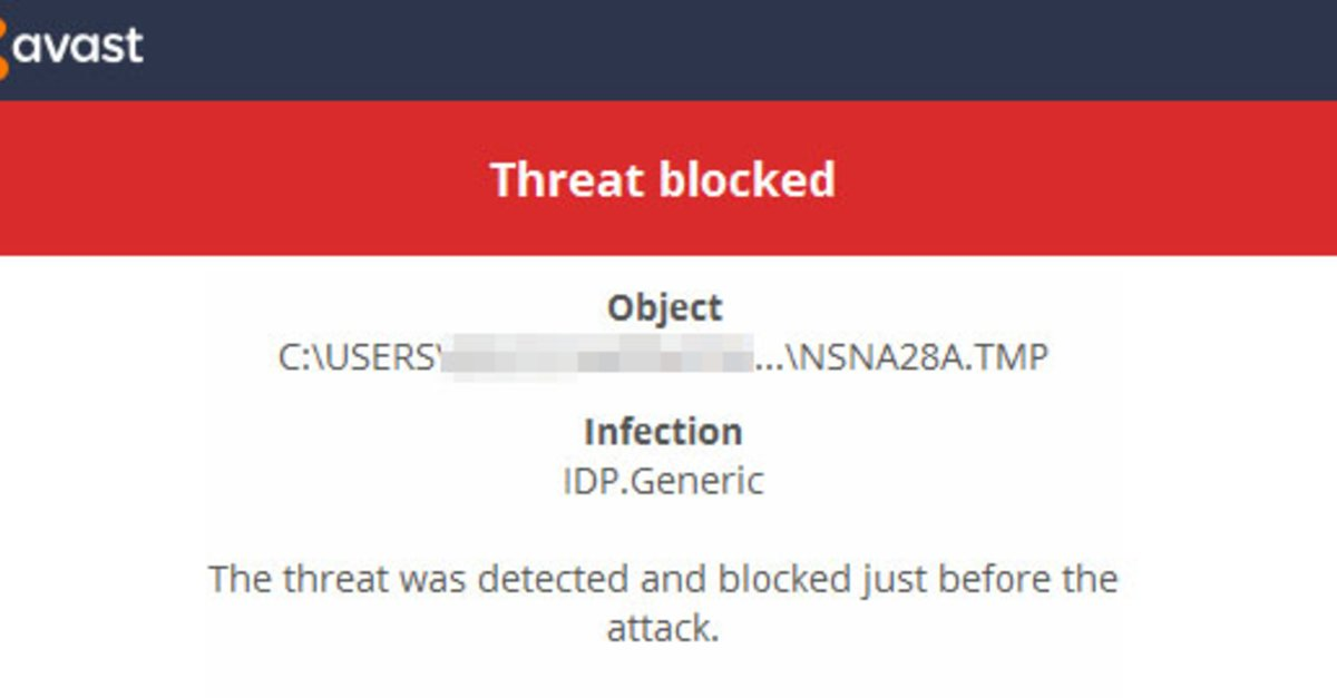 IDP.Generic gefunden (Malware) \u2013 wie entfernen?