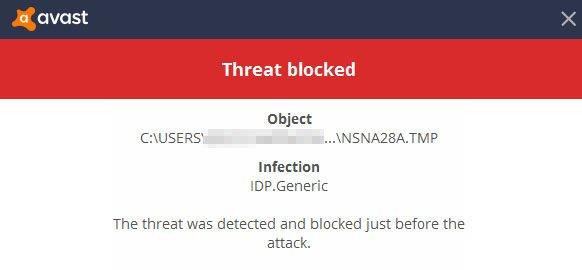 IDP.Generic gefunden (Malware) – wie entfernen?