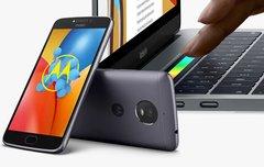 Blitzangebote: Apple MacBooks & iMacs, Moto E4, Philips Hue Bundle, Festplatten, Randlos-Smartphone
