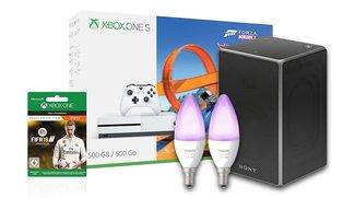 Blitzangebote: Xbox One S, Sony AirPlay-Lautsprecher, Philips Hue Bundles und noch mehr