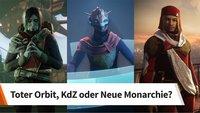 Welcher Fraktion in Destiny 2 tretet ihr bei?