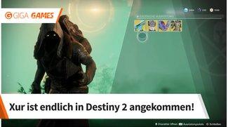 Destiny 2: Xur - heute - Standort und Angebot (15.9.)