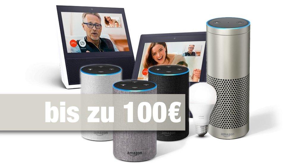 Neuer Amazon Echo & Echo Show: So spart ihr bis zu 100 Euro beim Kauf