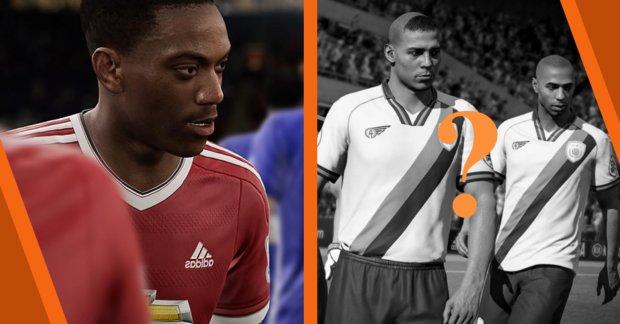 FIFA 18 muss auf erfundene Spieler- und Teamnamen zurückgreifen
