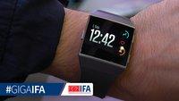 Fitbit Ionic Smartwatch im Video: Der teure Apple-Watch-Konkurrent