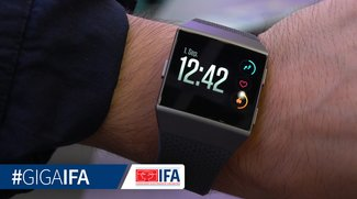 Fitbit Ionic Smartwatch im Video: Der teure Apple-Watch-Konkurrent