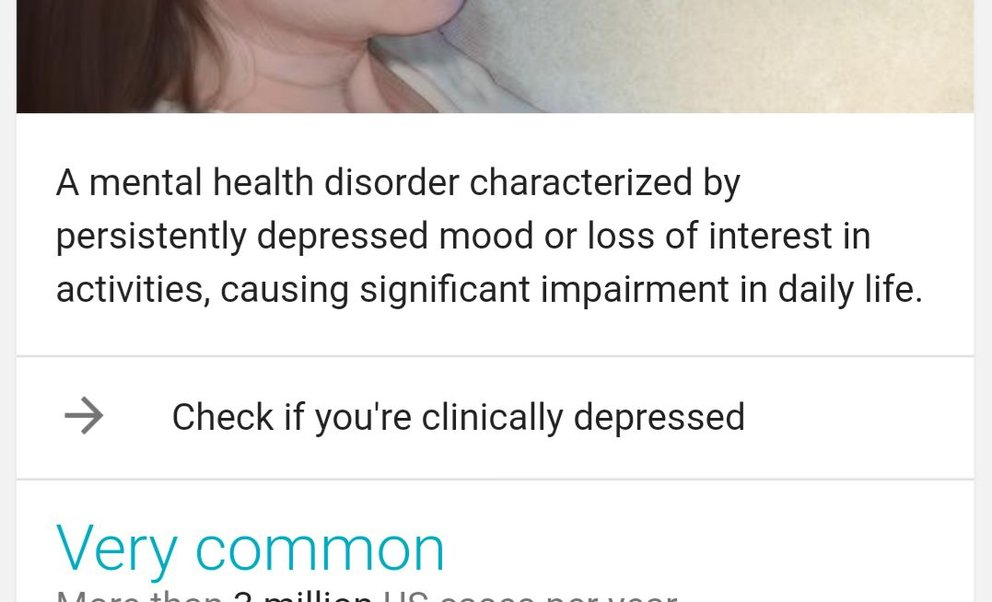 google-depression-test-check