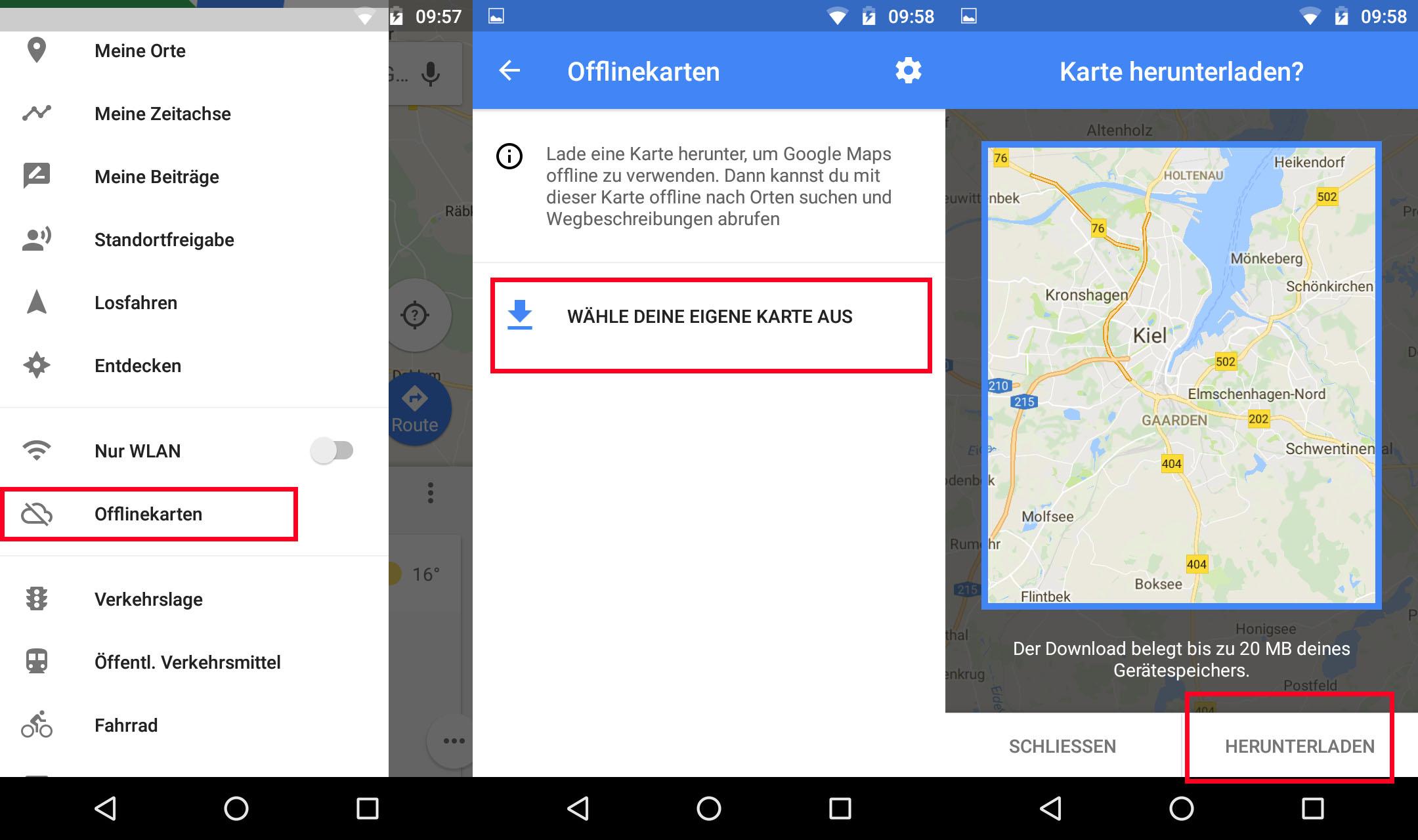 Google Maps offline nutzen: So geht's on