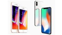 iPhone X und iPhone 8: Größe der neuen Apple-Flaggschiffe