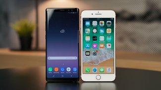 iPhone 8 Plus und Galaxy Note 8 im Vergleich: Kamera-Profi gegen Arbeitstier