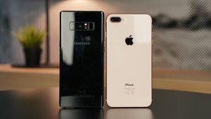 Nur eine Haaresbreite entfernt: So dicht liegen Apple und Samsung beieinander