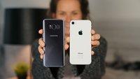 iPhone 8 und Galaxy S8 im Vergleich: Klassik gegen Moderne