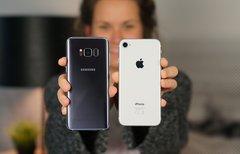 iPhone 8 und Galaxy S8 im...