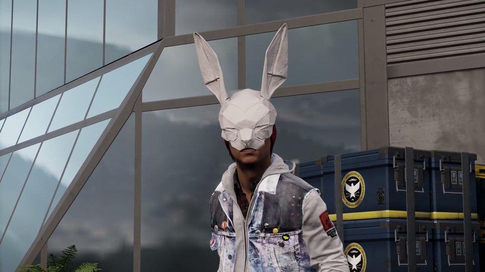 Diese Maske erwartet euch u.a. nach dem Abschluss der Missionen von Paper Trail.