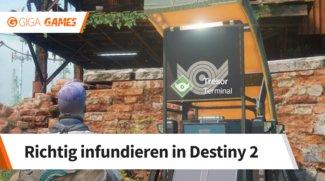 Destiny 2: Infundieren und was ihr dabei beachten müsst