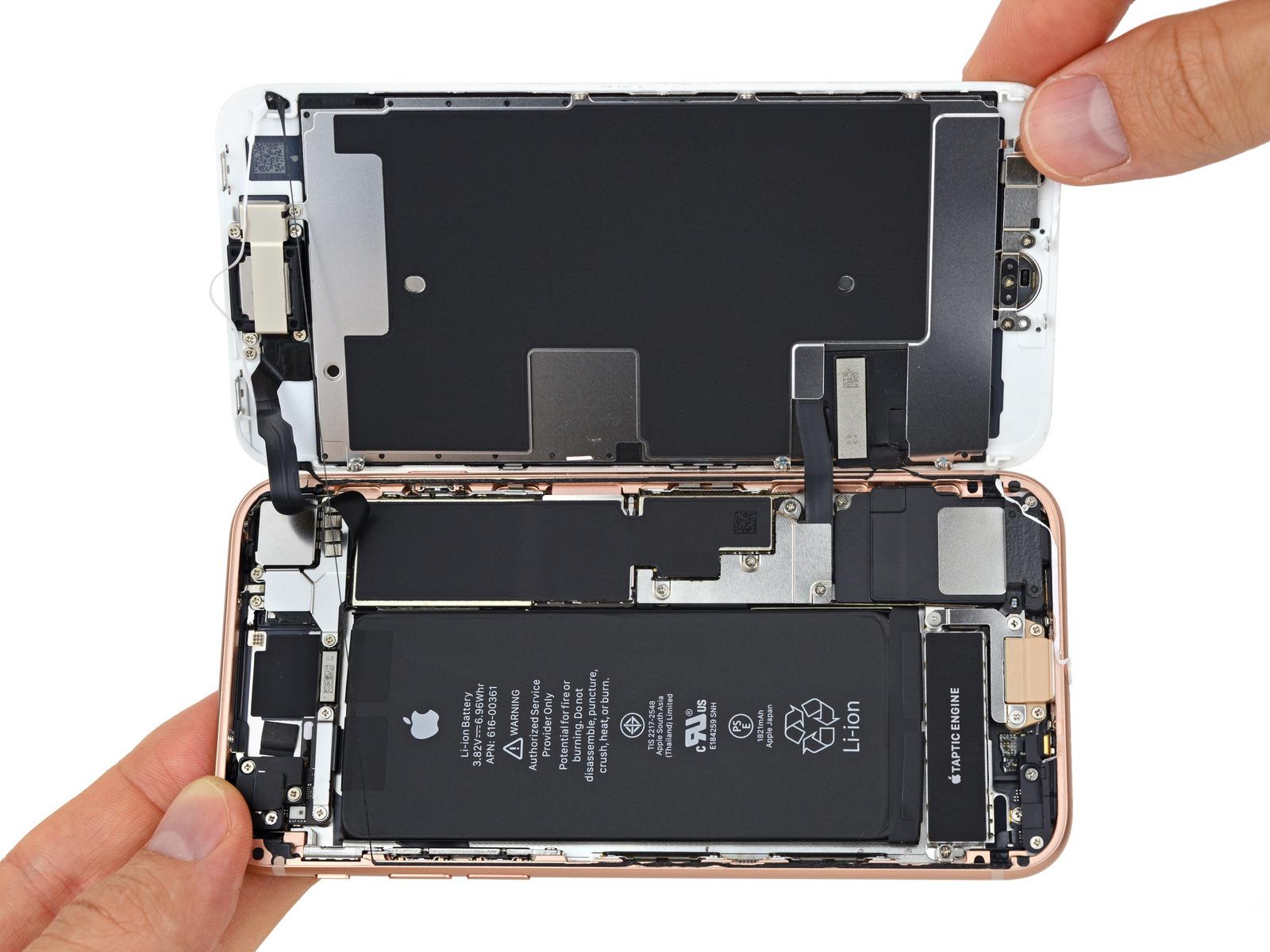 Iphone 8 Zerlegt Uberraschungen Im Innenleben