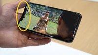"""iPhone X im neuen Video: So behindert der """"Notch"""" die Darstellung in Apps"""