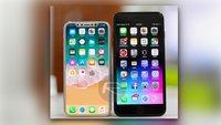 iPhone X im Größenvergleich: Es wird kleiner als man denkt