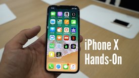 iPhone X im Hands-On