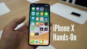 iPhone X im Hands On: Der erste Eindruck im Video