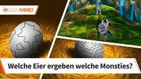 Monster Hunter Stories: Anhand dieser Ei-Muster erkennt ihr die Monsties!