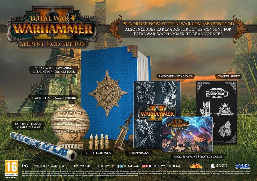 Diese Collector's Edition von Total War: Warhammer 2 wurde geklaut.