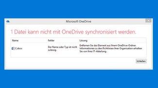 OneDrive aktualisiert Dateien nicht richtig (Synchronisierungsprobleme) – das könnt ihr tun