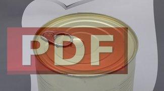 So könnt ihr ein PDF öffnen