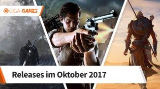 Release-Liste für Oktober 2017: Diese Spiele erwarten dich