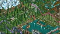 Rollercoaster Tycoon 2: Spieler entwickelt Taschenrechner aus Achterbahnen