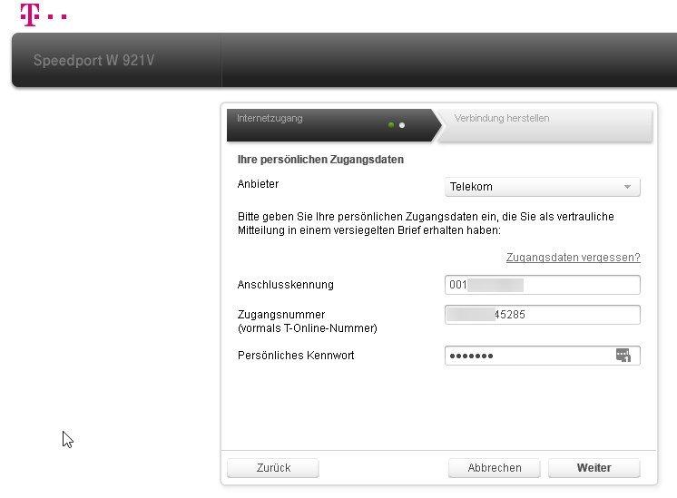 router-einrichten-zugangsdaten