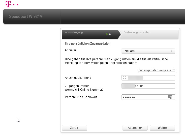 Router Einrichten Internetzugang Und Wlan Konfigurieren