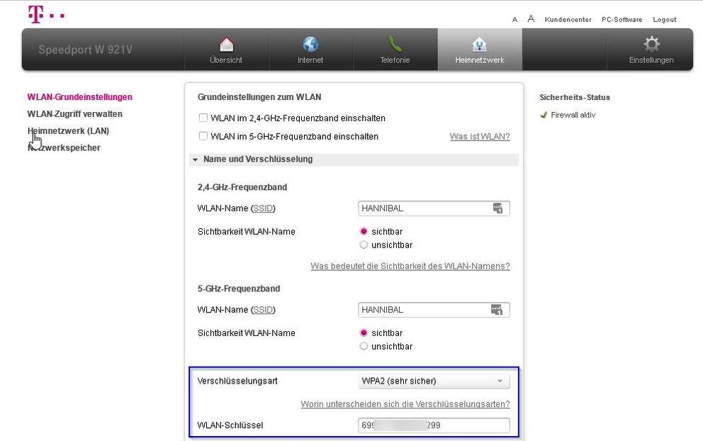 router-wlan-passwort-aenden