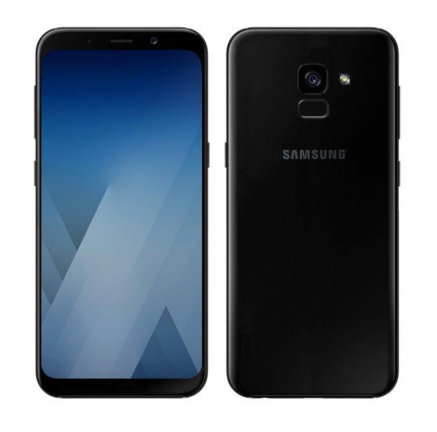 Galaxy S8 geschrumpft: Galaxy A5 (2018) startet optisch durch