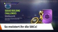 FIFA 18: SBC - So meistert ihr die Squad Building Challenges